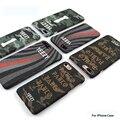 Luxo luminous yeezy telefone celular case para iphone 7 7 plus 6 6 s 6 Plus Size Camuflagem Disign Coque Duro Tampa Traseira Casos Fundas