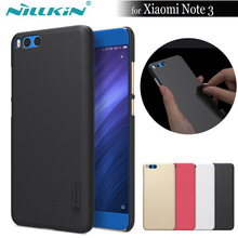 Nilkin for Xiaomi Mi Note 3 Case Nillkin Super Frosted Shield Hard Plastic Back Phone Protective Cover Shell for Xiaomi Note 3