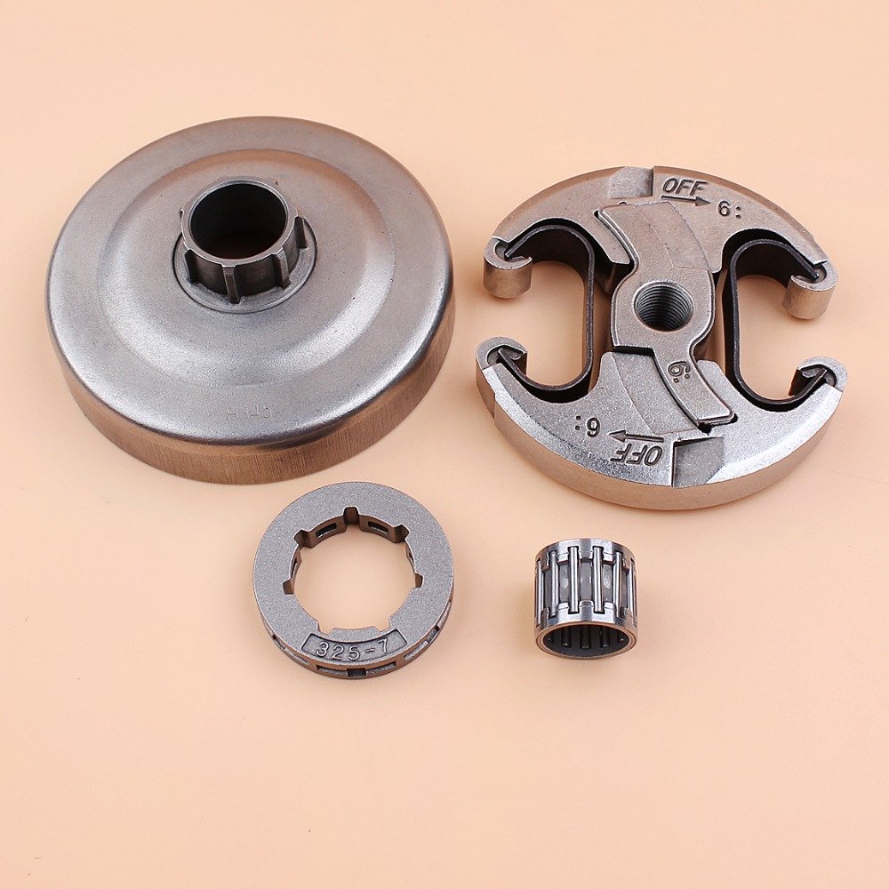 Clutch Drum .325 7T Needle Bearing Kit For HUSQVARNA 340 345 346 XP 350 351 357 445 450 Chainsaw 537 11 05-03 / 503873072