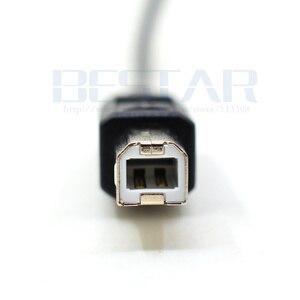 Image 4 - 50 cm Elleboog schuine USB C USB 3.1 type c Type C Male Connector naar USB 2.0 B Type Man data printer Kabel 0.5 m