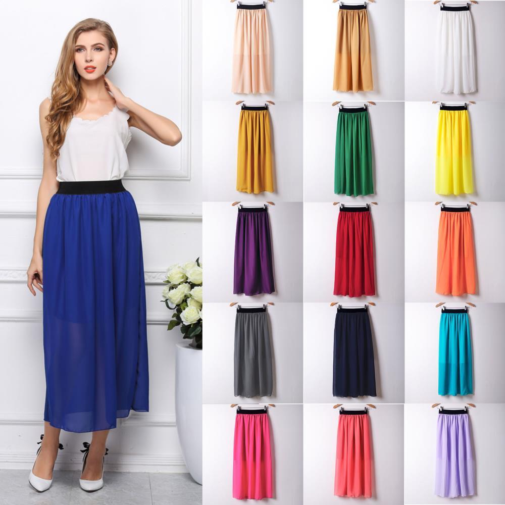Aliexpress.com : Buy 2017 Fashion Women Long Skirt High Waist ...