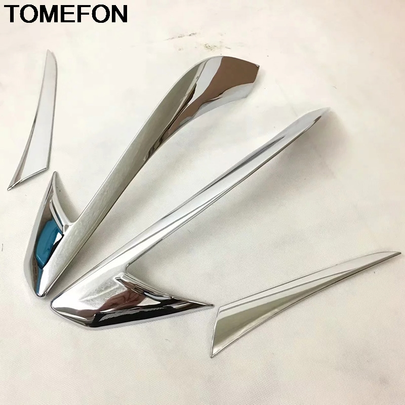 TOMEFON For <font><b>Mazda</b></font> <font><b>CX</b></font>-<font><b>5</b></font> CX5 <font><b>2017</b></font> <font><b>2018</b></font> 2019 Rear Tail Light Lamp Decoration Frame Cover Trim Moulding Exterior <font><b>Accessories</b></font> ABS image