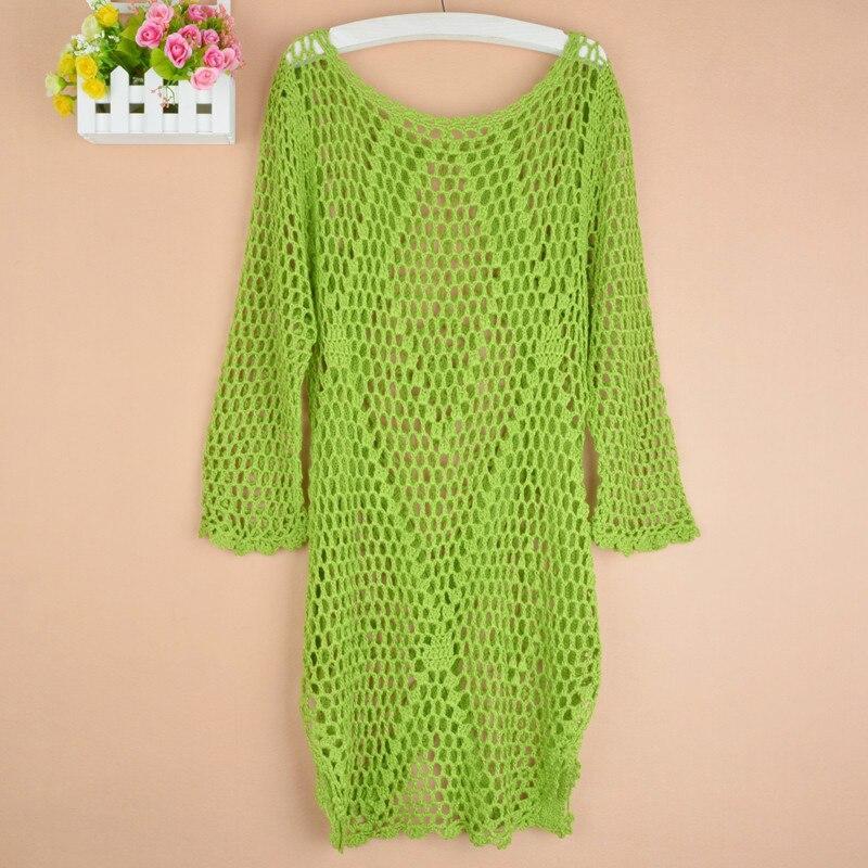 Új divat tavasz Őszi új divat Kézi hollowout kötött pulóver - Női ruházat - Fénykép 2