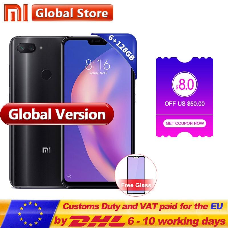 Aliexpresscom Comprar Versión Global Xiaomi mi 8 Lite 6 GB 128 GB teléfono móvil 626 Snapdragon 660 Octa Core 24MP frente cámara 199 Pantalla Completa de Los teléfonos móviles fiable proveedores en Mi Global Store