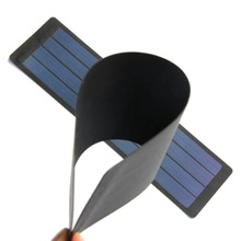 2W 6V Flexible Solar Cell Amorphous Silicon DIY Solar Panel Charger System For 3.7V Battery Waterproof 2pcs/lot Free Shipping