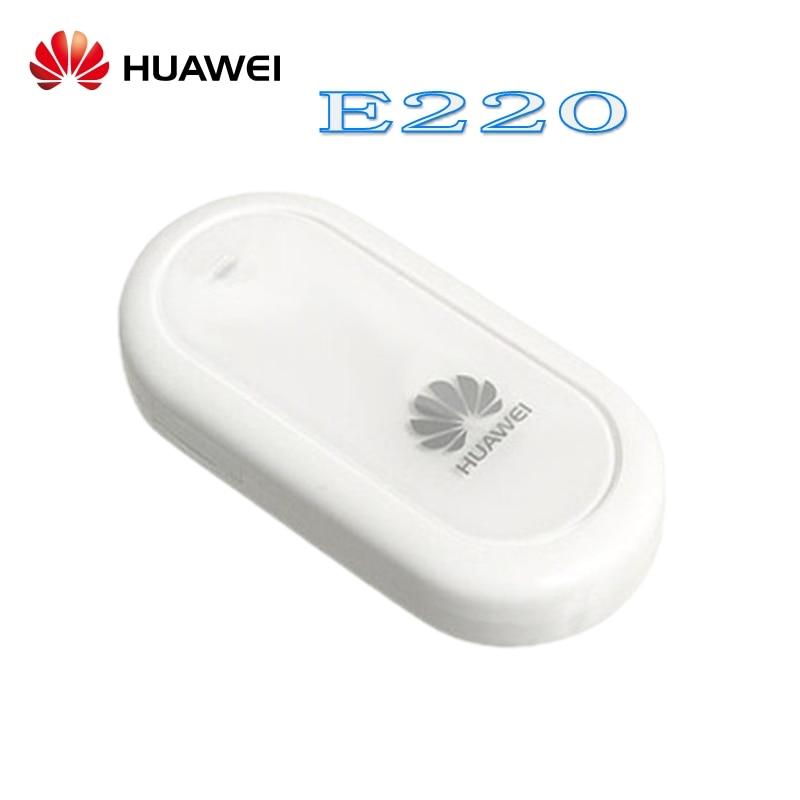 נעילת Huawei E220 3 גרם נייד בפס רחב מודם dongle 3 גרם usb מקל pk E169 E1550 E1750 E156