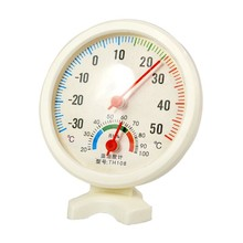 Фотография XNWY Indoor outdoor thermometer pointer type temperature meter household dry wet small dry wet instrument