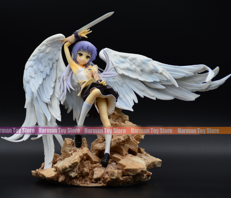 25CM Japanese anime figure Broccoli Angel Beats Tachibana Kanade action figure collectible model toys for boys sexy girl action figure angel beats tenshi kanade tachibana good smile ver limited 1 8 7 8 20cm pvc toy sg014