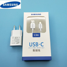 Original 5.3V 2A EU charger,USB 3.1 Type C Cable Fast Charge Data Line sync For Samsung Galaxy S8 S9 Plus A3 A5 A7 2017 Note 8 9