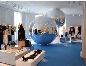 Aufblasbarer Werbespiegel-Ball für Show-heißer Verkaufs-Silber
