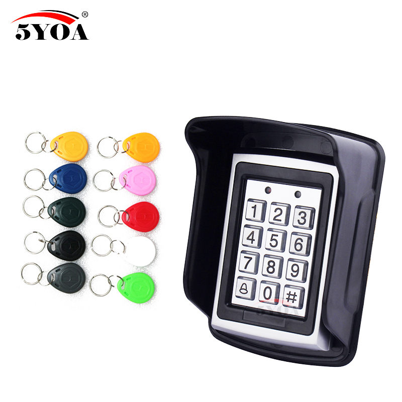Access-Control-Keypad RFID Users 1000 Waterproof With Users/10-key/Fobs For Hot-Sale