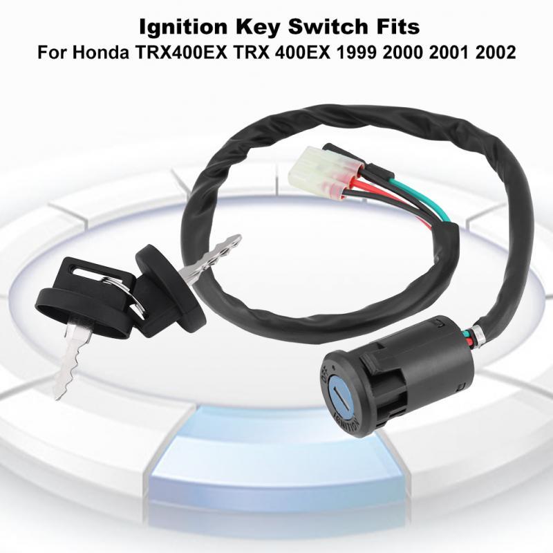 Ignition Key Switch For Honda Sportrax 400 TRX400EX TRX400X 2x4