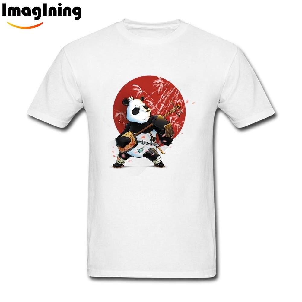 T shirt japanese design - Music Panda Man T Shirts New Design Japanese Instrument Tops Cotton Short Sleeve O Neck