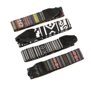 Image 3 - Kaliou Style ethnique appareil Photo sangle colorée coton Yard motif sangle de cou DSLR bandoulière bandoulière pour Canon Nikon Sony stylo
