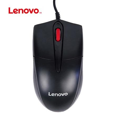 Lenovo FML301 Souris 1000 DPI USB Optique Filaire Souris Soutien Test Officiel