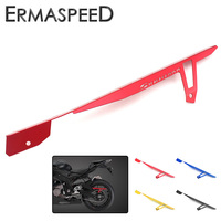 CNC Aluminum Motorcycle Chain Cover Rear Chain Belt Guard Modified Parts Red Gold Blue For BMW