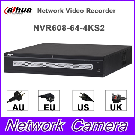 dahua p2p 4k nvr 4ch 8ch 16ch video recorder nvr4104hs 4ks2 nvr4108hs 4ks2 nvr4116hs 4ks2 h 265 8mp resolution Original egnlish version dahua NVR NVR608-64-4KS2 64 Channel Ultra 4K H.265 Network Video Recorder