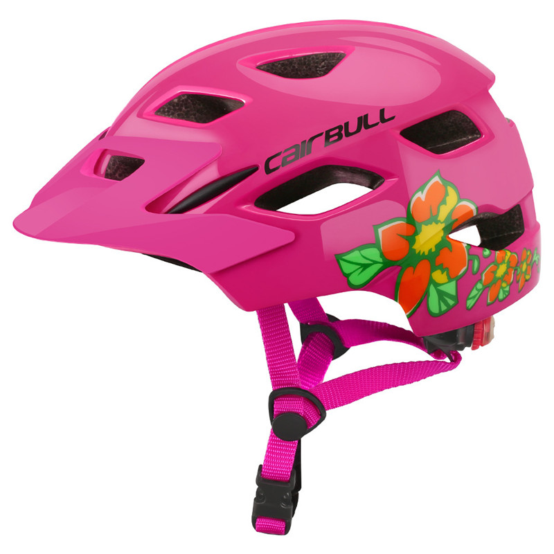 Cycling-Helmet Taillight Bike Bicycle Balance Skating Kids Children Riding with Safety