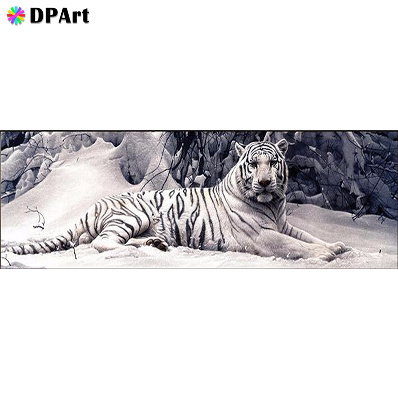 Daimond Painting 5D Full Square/Round Dri Snow Tiger Animals Diamond Rhinestone Embroidery Painting Mosaic Cross Stitch M559Daimond Painting 5D Full Square/Round Dri Snow Tiger Animals Diamond Rhinestone Embroidery Painting Mosaic Cross Stitch M559