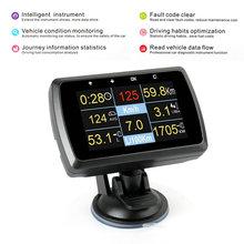 OBD2 Scan Tool Car OBD Smart Water Tempmeter speed meter gauge display driving computer Ancel A501 Car fault code and alarm