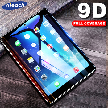 Screen Protector For Samsung Galaxy Tab A 10.1 2019 A 8.0 10.5 2018 9D Curved Edge Tempered Glass Film For Galaxy Tab S5e S4 S6