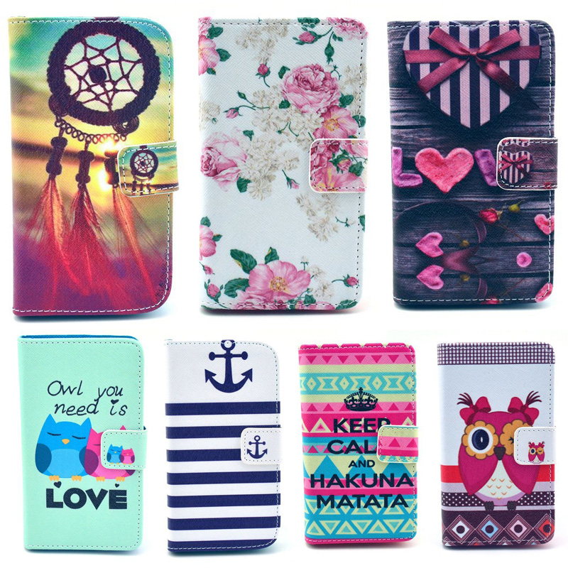 ①Flip Cover Phone Cases For funda coque Samsung Galaxy S5 Mini