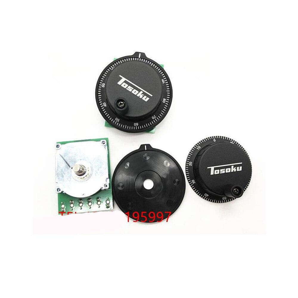 Новый тосоку CNC ручной колесо Pulser 25ppr 100ppr кодировщик RE45T Dia 60 мм для MITSUBISHI SIEMENS FANUC системы 5В 12В MPG - 5