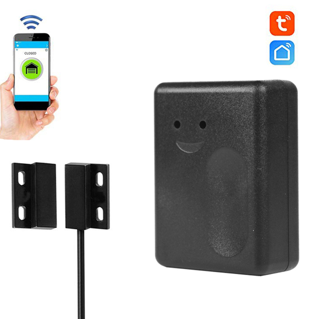 Garage Smart WiFi Schalter Smart WiFi Stecker Telefon APP Control Garage Schalter Alexa für Google Home IFTTT Smart home produkte sensor