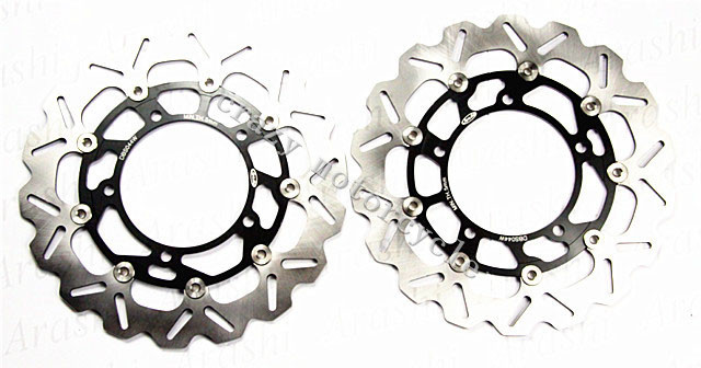 Free shipping moto Brake Rotor Disc For SUZUKI GSP400 06-10 DL650L-STROM ABS 07-12 GSF650 BANDIT 07-10 GSF 650 BANDIT ABS 2011