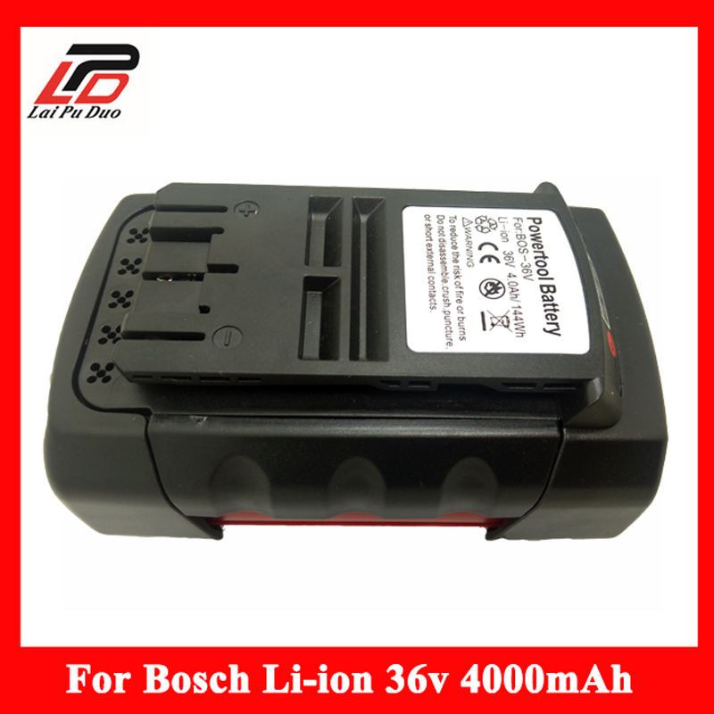 Rechargeable Battery 36V 4000mAh Li-ion power tool battery Replacement For Bosch 2 607 336 108 2 607 336 108 BAT810 BAT836 цена 2017