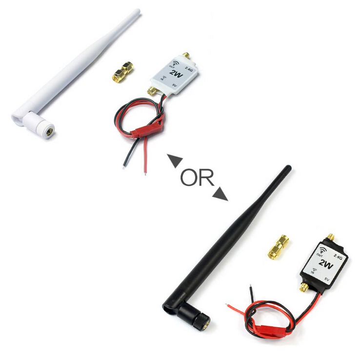 2.4G Radio Signal Amplifier Signal Booster for RC Model Quadcopter Multicopter Drone 2.4G Remote control цена