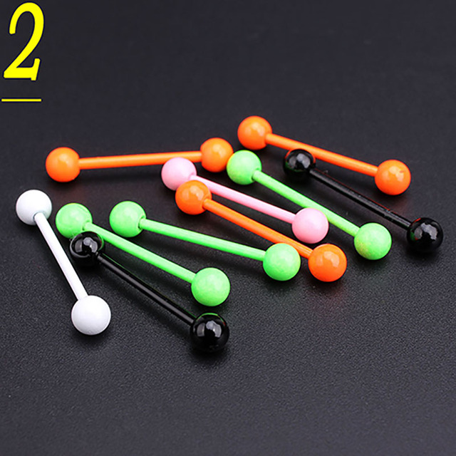 Wholesale Pcs Lot Mixed Colour Body Piercing Stainless Steel - Stainless steel table with lip