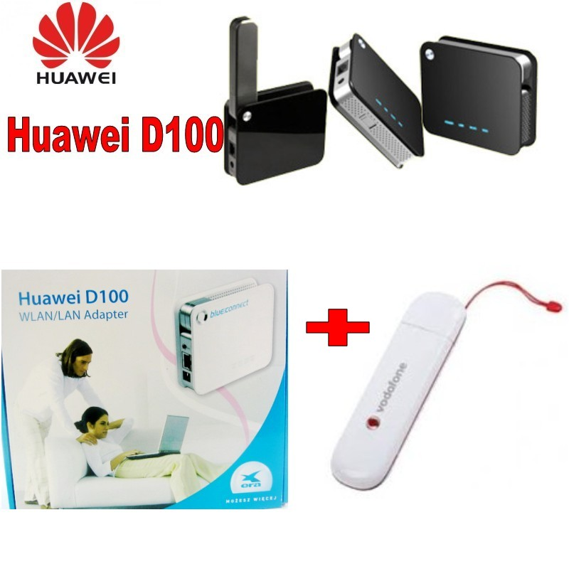 Huawei D100 3g Wireless Router Transforms USB 3G  E172  Modem/dongle Into WiFi Network Togther