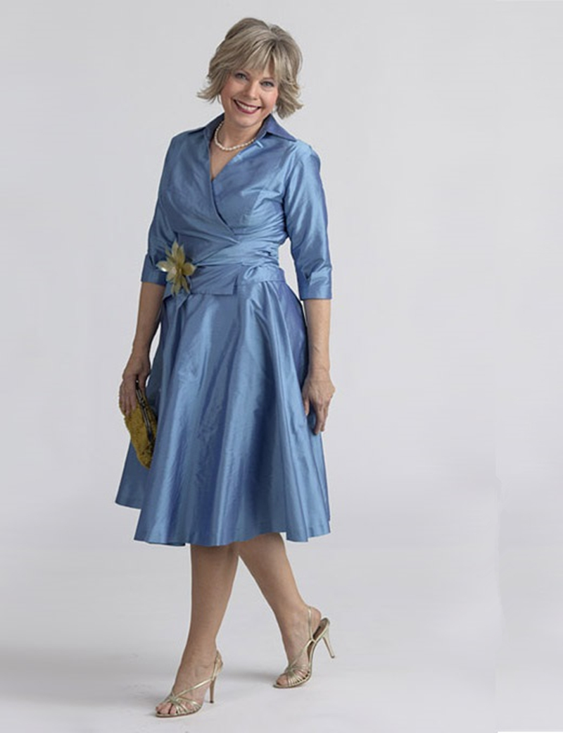 Old Fashioned Modest Mother Of The Bride Dresses In Utah Pattern ...