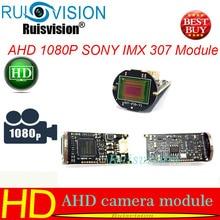 Аналоговая камера высокого разрешения 4 IN1 1080 P/2MP 1/2. 8 «SONY CMOS IMX307 Сенсор AHD мини пуля ИК наблюдения камера видеонаблюдения чип модуля Бесплатная доставка
