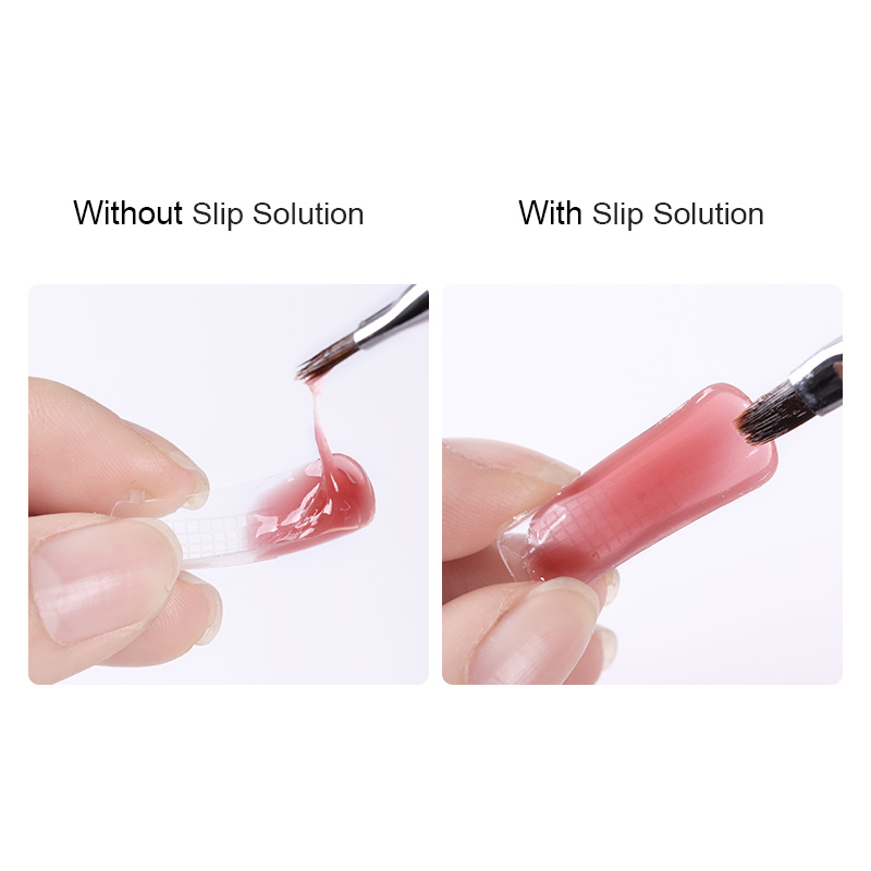 UR SUGAR 20ml Poly Polish Gel Liquid Slip Solution Nail Varnish for Acrylic Builder Extension Gel Manicure Glides Poly UV Gel