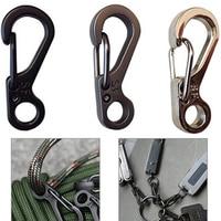 10x Mini SF Carabiner Climbing Backpack Spring Clasps EDC Keychain Bottle Hooks