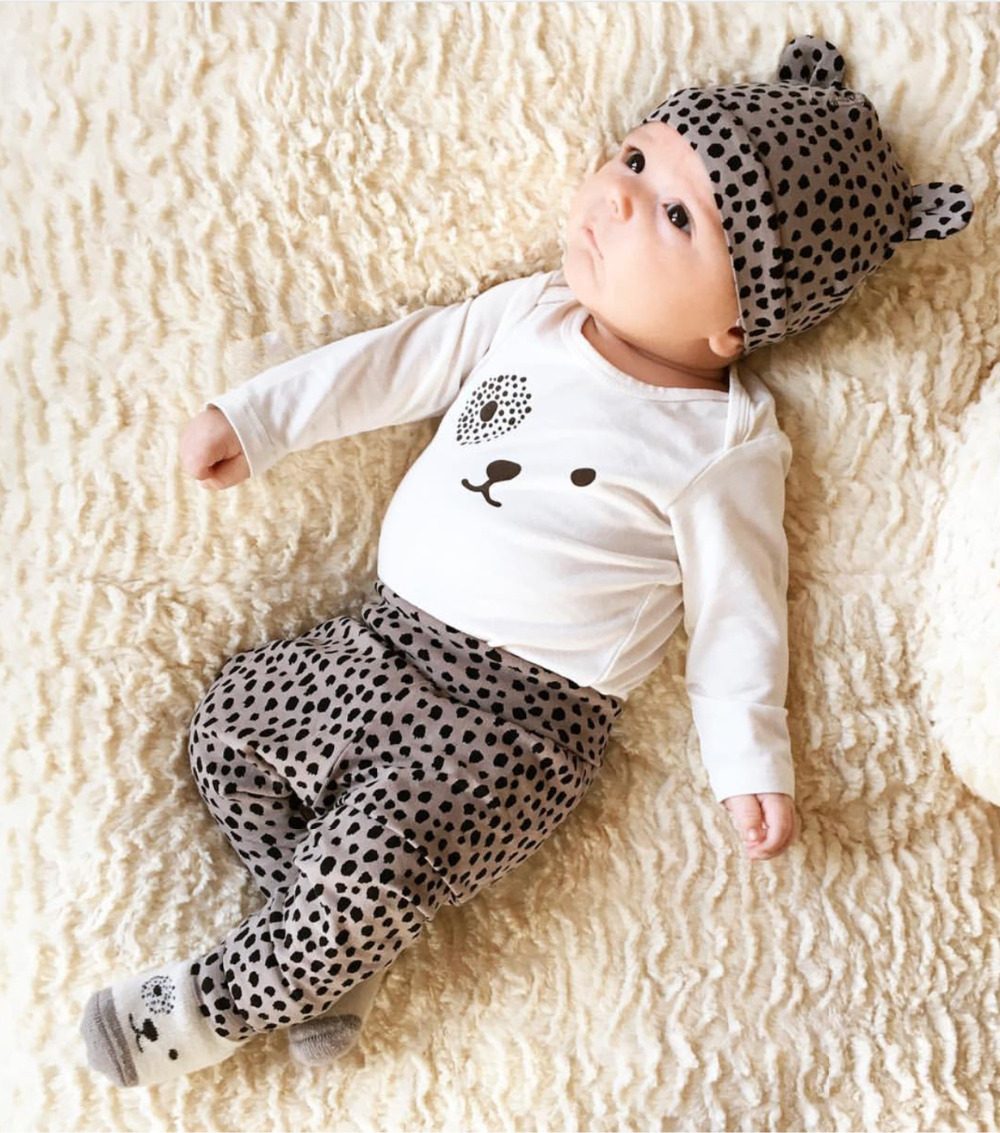 4ff2e6653 Good Deal 2017 New style baby clothing set long sleeve Cartoon ...