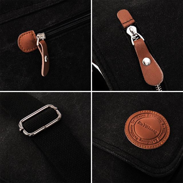 2019 Canvas Leather Crossbody Bags bolsa handbags Men Messenger Shoulder for man quality luxury designer big brand masculina