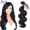 8А Малайзии Девственные Волосы Пучки Выдвижение Человеческих Волос Малайзийских Объемная Волна 1 Bundle Малайзии Волос Стиль # 1B Rosa Средства Для Волос продукты