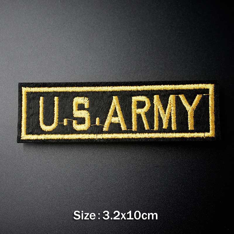 U S ARMY EMBLEM TOP GUN Iron On Patch Embroidered Applique Sewing Clothes Stickers Garment Apparel U S ARMY EMBLEM TOP GUN Iron On Patch Embroidered Applique Sewing Clothes Stickers Garment Apparel Accessories Badges Patches