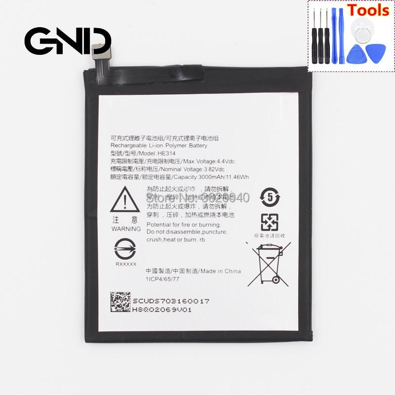 Gnd 3000 Mah/11.46wh 3,82 V He314 Ersatz Batterie Für Sharp Aquos Z2 A1 Fs8002 Eingebaute Li-ion Bateria Li Tablet-zubehör polymer Batterie ZuverläSsige Leistung Tablet-akkus & Backup-stromversorgung