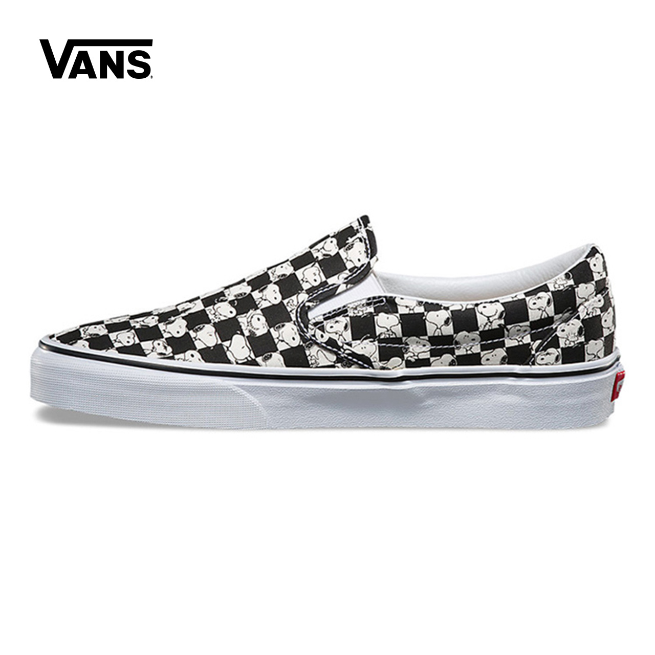 Original New Arrival Vans Men's & Women's Peanuts Slip-On Low-top Skateboarding Shoes Sneakers Canvas Sport Outdoor VN0A38F7QQO suede low top slip on sneakers
