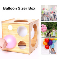 12 Inch Balloon Measuring Tool Sizer Box Birthday Wedding Party Birthday Decoration DIY Balloon Arch Kit Balloon Tower Decor