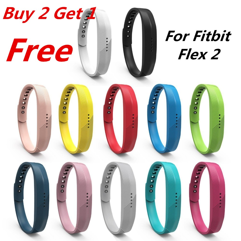 Candy Colors Soft Sport Silicone Watchband Wrist Strap For Fitbit Flex 2 All-Day Activity Smart Track Fitness Wristband auricular para solo un oido png