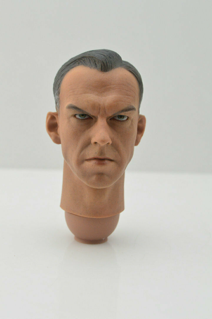 Custom Hugo Weng Head Sculpt 1/6 Red Skull Captain America F Hot Toy Phicen Doll muñeco buffon