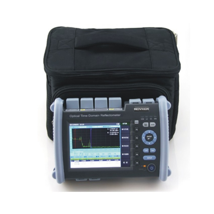 NK6000 OTDR Optical Fiber Breakpoint Detector with Built-in Visual Red Light for Locating Faults 2