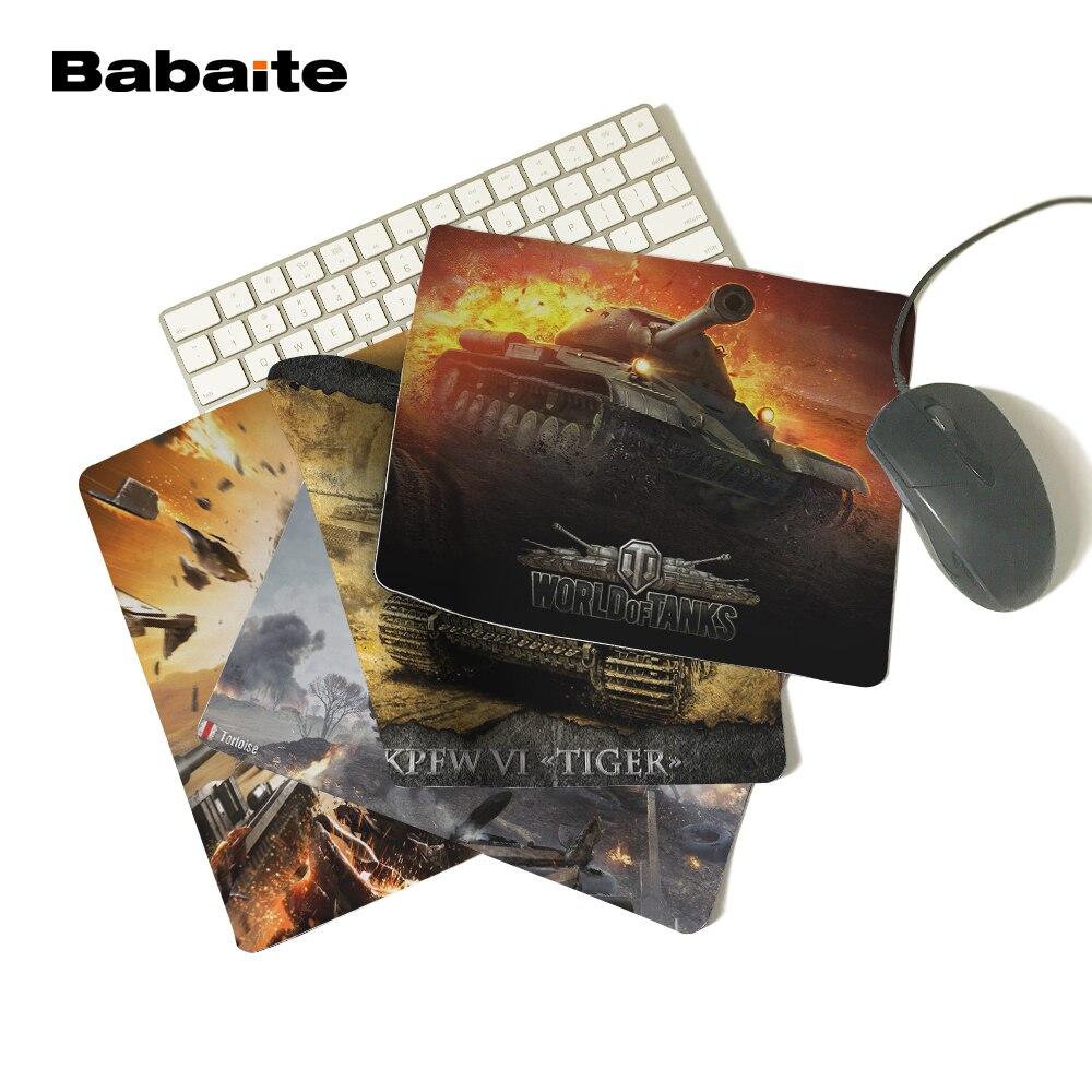 Babaite New World of tanks musemåtte Hot sales mousepad laptop musemåtte notbook computer gaming musemåtte gamer play måtter