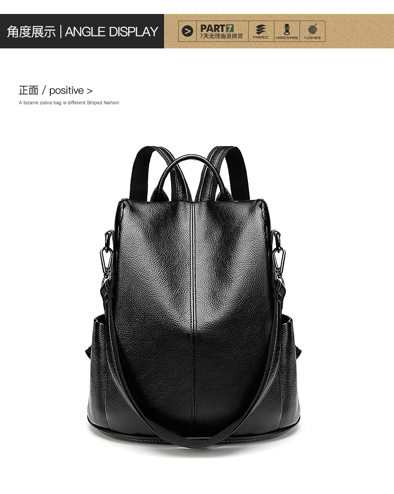 89fe06eaabae CHALLEN Anti Theft Backpack Female 2018 New Korean Version Of The ...