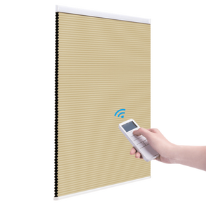 Image 2 - Made to Order Blackout Motorized Cellular Shades, Cordless Honeycomb blinds, Remote and Batteries Included